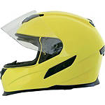 Hi-Viz Yellow Shield Open View