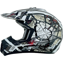 AFX FX-17 Youth Trap Helmet - Vega Youth Viper Helmet - No Guts No Glory