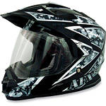 AFX FX-39 Camo Helmet - Dual Sport Dirt Bike Helmets & Accessories