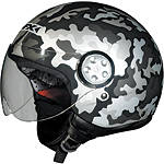 AFX FX-42A Helmet - Pilot Camo - AFX Cruiser Helmets and Accessories