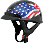 AFX FX-70 Helmet - Flag - AFX Motorcycle Products