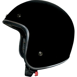 AFX FX-76 Helmet - Speed & Strength SS600 Helmet - Back N Black
