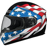 AFX FX-90 Helmet - Flag - Full Face Motorcycle Helmets
