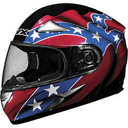 AFX FX-90 Helmet - Rebel - AFX FX-120 Scratch Resistant Shield