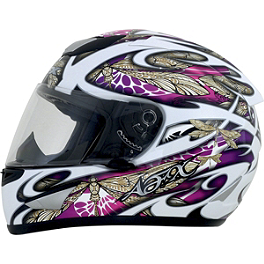 AFX FX-95 Helmet - Dragonfly - Speed & Strength Women's SS1100 Helmet - Flower Power