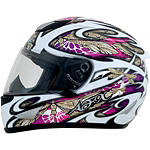 AFX FX-95 Helmet - Dragonfly - Womens Full Face Motorcycle Helmets