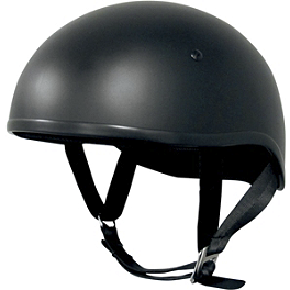 AFX FX-200 Half Helmet - Vega XTS Naked Helmet - Leather
