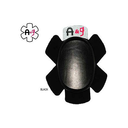 Asphalt & Gas Standard Oval Knee Puck - Main