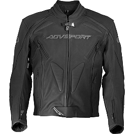AGVSport Dragon Leather Jacket - Teknic Apex Leather Jacket