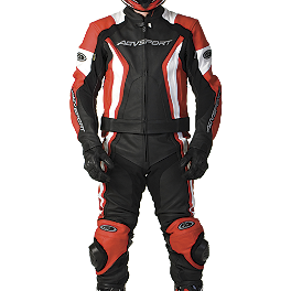 AGVSport Palomar Leather Two-Piece Suit - Alpinestars Carver Leather Two-Piece Suit