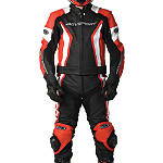 AGVSport Palomar Leather Two-Piece Suit - AGVSport Motorcycle Riding Gear