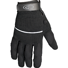 AGVSport Main Street Short Gloves - Power Trip Open Road Gloves