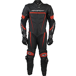 AGVSport Willow Leather One-Piece Suit - Cortech Latigo RR Leather One-Piece Suit