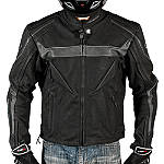 AGVSport Willow Leather Jacket - MENS--HOT-LEATHERS Motorcycle Jackets and Vests
