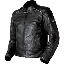 AGVSport Breeze Perforated Leather Jacket - AGVSport Tornado Perforated Leather Jacket