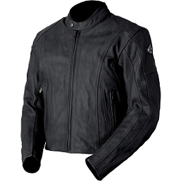 AGVSport Canyon Perforated Leather Jacket - River Road Anvil Perforated Leather Jacket