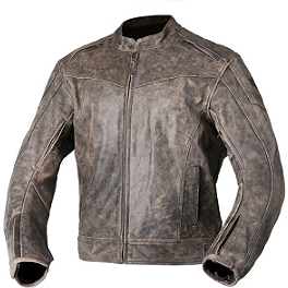AGVSport Element Vintage Leather Jacket - River Road Grateful Dead Cyclops Jacket