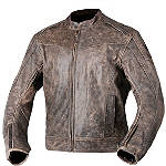 AGVSport Element Vintage Leather Jacket - HOT-LEATHERS Motorcycle Riding Jackets