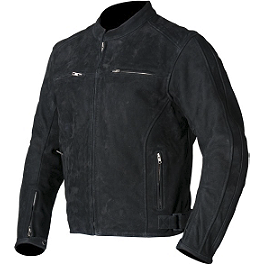 AGVSport Legacy Brushed Leather Jacket - AGVSport Element Vintage Leather Jacket