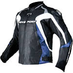 AGVSport Photon Perforated Leather Jacket - AGVSport Motorcycle Riding Jackets