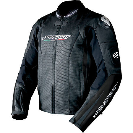 AGVSport Tornado Perforated Leather Jacket - Main