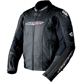 AGVSport Tornado Perforated Leather Jacket - SPIDI Track Leather Jacket
