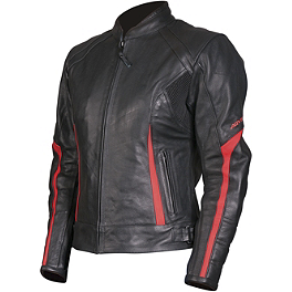 AGVSport Women's Topaz Leather Jacket - Dainese Women's Cage Leather Jacket