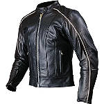 AGVSport Women's Lotus Leather Jacket - AGVSport Motorcycle Riding Gear