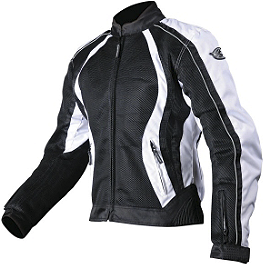 AGVSport Women's Xena Vented Textile Jacket - Firstgear Women's Mesh-Tex Jacket