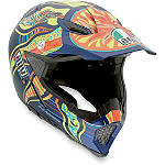AGV AX-8 Evo Helmet - VR 5 Continents - AGV Dirt Bike Products