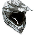 AGV AX-8 Evo Helmet - Flagstars - CYBER-HELMETS-PROTECTION Dirt Bike kidney-belts