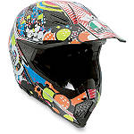 AGV AX-8 Evo Helmet - Hypno - CYBER-HELMETS-PROTECTION Dirt Bike kidney-belts