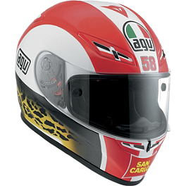 AGV GP-Tech Helmet - Marco Simoncelli - AGV GP-Tech Limited Edition Helmet - Rossi Eye