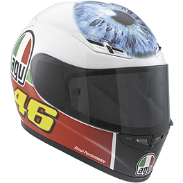 AGV GP-Tech Limited Edition Helmet - Rossi Eye - AGV Grid Helmet - Valentino Rossi Sun & Moon