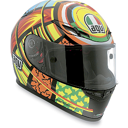 AGV GP-Tech Helmet - VR Elements - AGV Grid Helmet - Valentino Rossi Sun & Moon