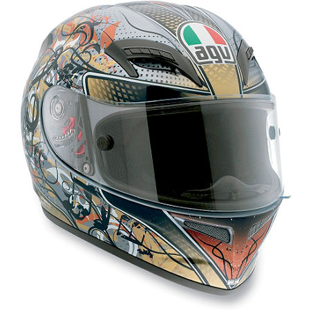 AGV Grid Helmet - Violin Key - Main