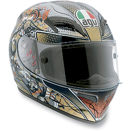 AGV Grid Helmet - Violin Key - AGV GP-Tech Limited Edition Helmet - Rossi Eye