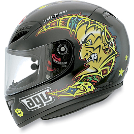 AGV Grid Helmet - Valentino Rossi Sun & Moon - AGV GP-Tech Limited Edition Helmet - Rossi Eye