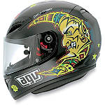 AGV Grid Helmet - Valentino Rossi Sun & Moon - AGVSport Dirt Bike Products