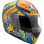 AGV K3 Helmet - 5-Continents - Full Face Motorcycle Helmets