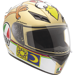 AGV K3 Helmet - The Chicken - AGV K3 Helmet - Wake Up