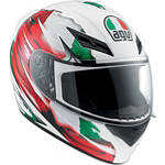 AGV K3 Helmet - Flag - Womens Full Face Motorcycle Helmets