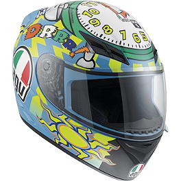 AGV K3 Helmet - Wake Up - AGV K3 Helmet - 5-Continents