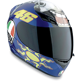 AGV K3 Helmet - Donkey - AGV GP-Tech Limited Edition Helmet - Rossi Eye