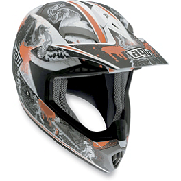 AGV MT-X Helmet - Evolution - 2013 Scott 350 Gloves - Grid Locke
