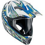 AGV MTX Helmet - Point - AGV Dirt Bike Riding Gear