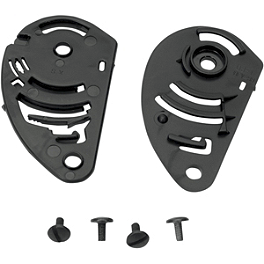 AGV TI-Tech/V-Flyer/Flyer/Daystar/S-4/Stealth/XR-2 Pivot Kit With Screws - GMAX 28mm Screw Kit For Flip Tint Kit For GM38/39Y/44/48/58/68 Helmets