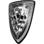 AKO Racing LED Integrated Tail Light - Chrome-Clear