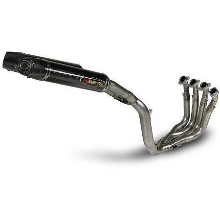 Akrapovic Evolution II Full System Exhaust - Carbon Fiber - Main