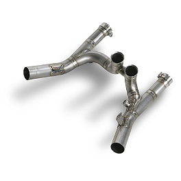 Akrapovic Exhaust Collector - Titanium - Akrapovic Slip-On EC Type Conical Exhaust - Titanium